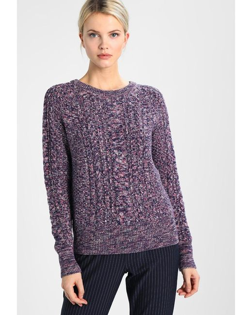 Gap | Blue Crew Aran Cable Jumper | Lyst