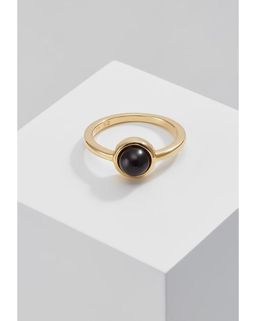 Dyrberg/Kern | Black Coupe Ring | Lyst