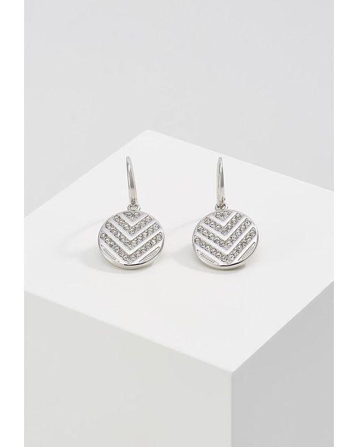 Fossil | Metallic Vintage Glitz Earrings | Lyst