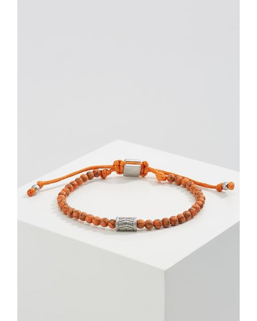 Fossil | Orange Bracelet for Men | Lyst