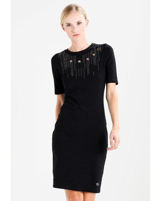 GAUDI | Black Jersey Dress | Lyst