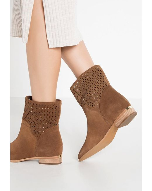 MICHAEL Michael Kors | Brown Sunny Boots | Lyst