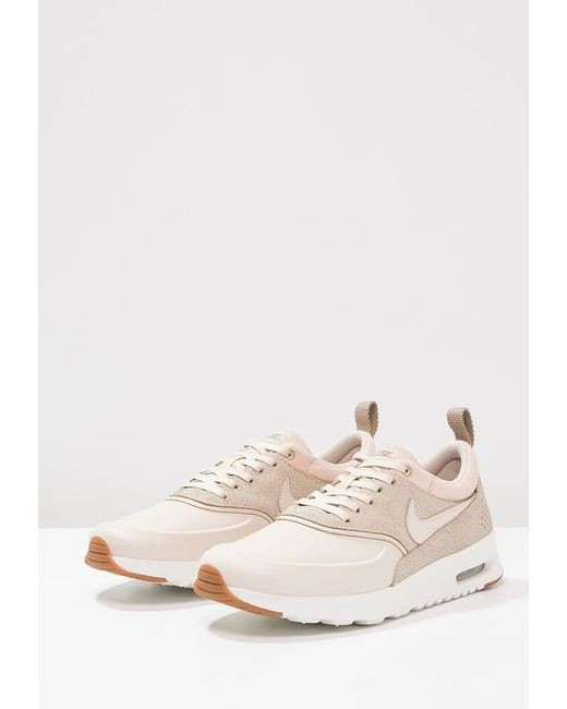 nike air max thea prm trainers in natural lyst. Black Bedroom Furniture Sets. Home Design Ideas