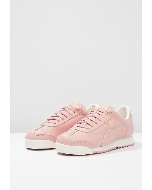 PUMA | Pink Roma Zld Trainers | Lyst
