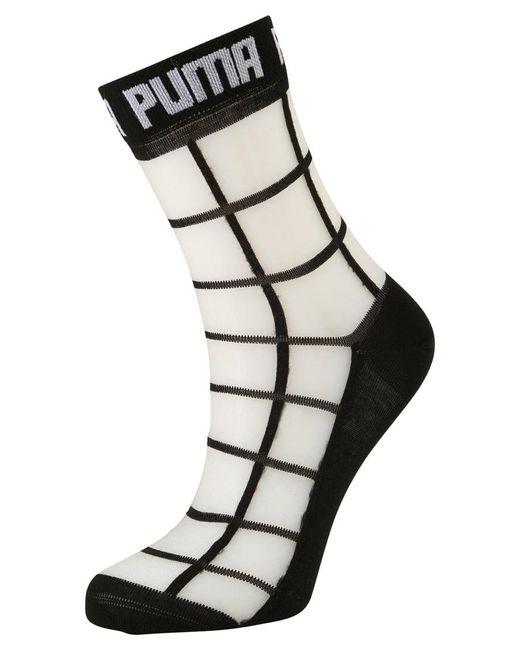 PUMA   Black Square Socks for Men   Lyst