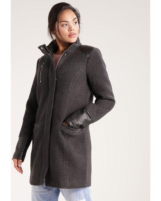 Vero Moda   Gray Vmwoods Classic Coat   Lyst