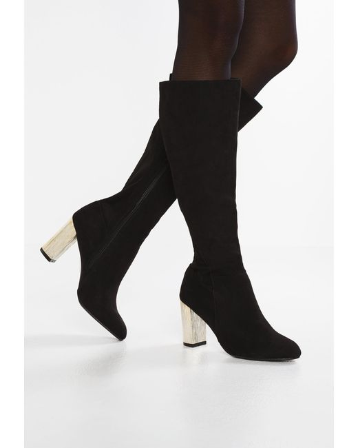 Dorothy Perkins | Black Kerri Boots | Lyst