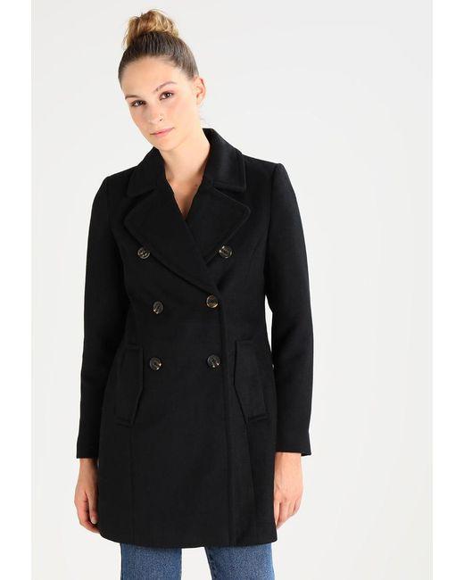Vero Moda | Black Vmpisa Rich Classic Coat | Lyst
