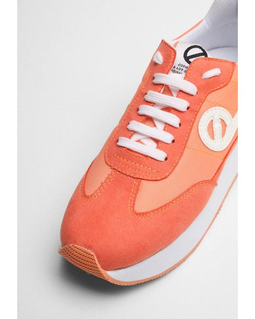 No Name EDEN JOGGER - Trainers - split corail