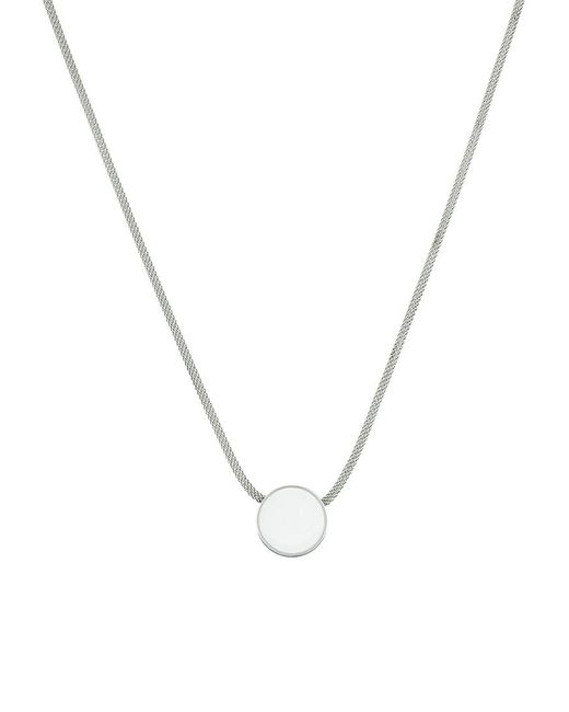 Skagen | Metallic Sea Glass Necklace | Lyst