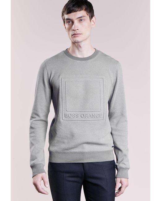 BOSS Orange   Gray Wack Sweatshirt for Men   Lyst
