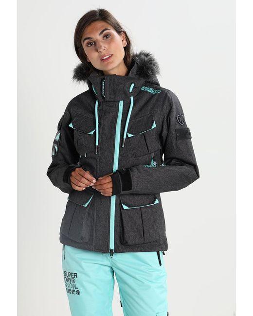 Superdry | Black Ultimate Snow Service Snowboard Jacket | Lyst