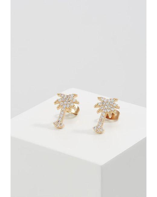 Pieces   Metallic Pckobye Earrings   Lyst
