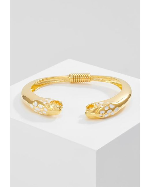 Kenneth Jay Lane | Metallic Jaguar Head Bracelet | Lyst