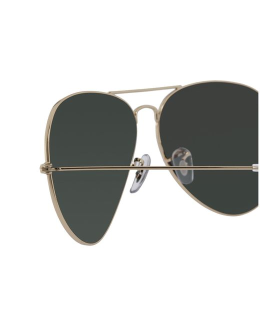 13c07e53c41ee ... Ray-Ban - Green Rb3025 Original Aviator 62mm (gold crystal Brown  Gradient) ...