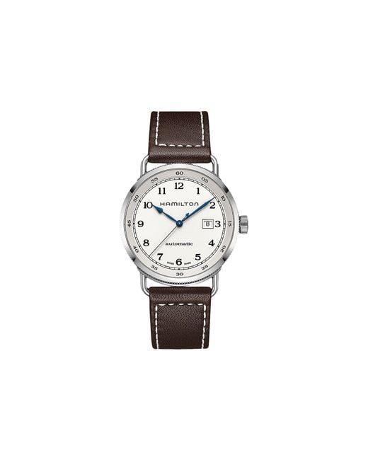 Hamilton - Metallic Khaki Navy Pioneer - H77715553 for Men - Lyst