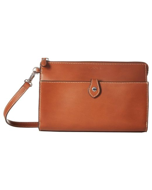 7141db489 Lodis - Brown Audrey Rfid Vicky Convertible Crossbody Clutch  (sequoia/papaya) Clutch Handbags ...