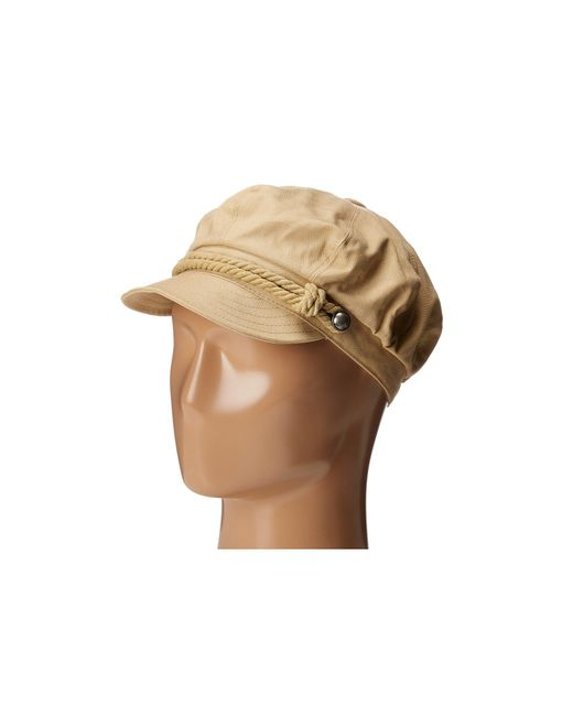 Betmar - Natural Fisherman Cap (white/navy) Caps - Lyst