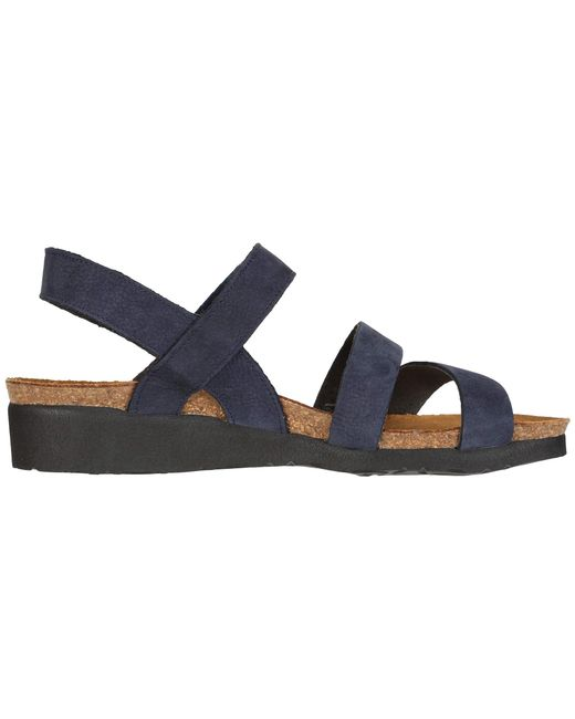 7f81331db815 ... Lyst Naot - Blue Kayla (sea Green Leather) Women s Sandals ...