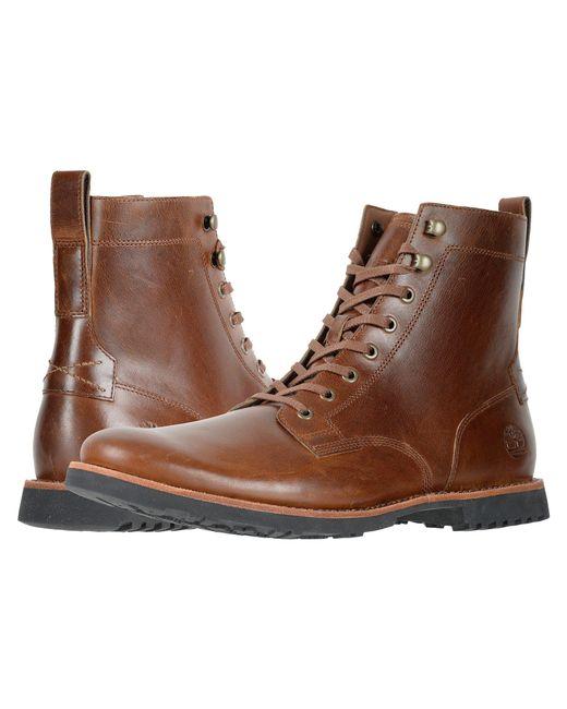 Lyst Timberland Kendrick Side Zip Boot Medium Brown