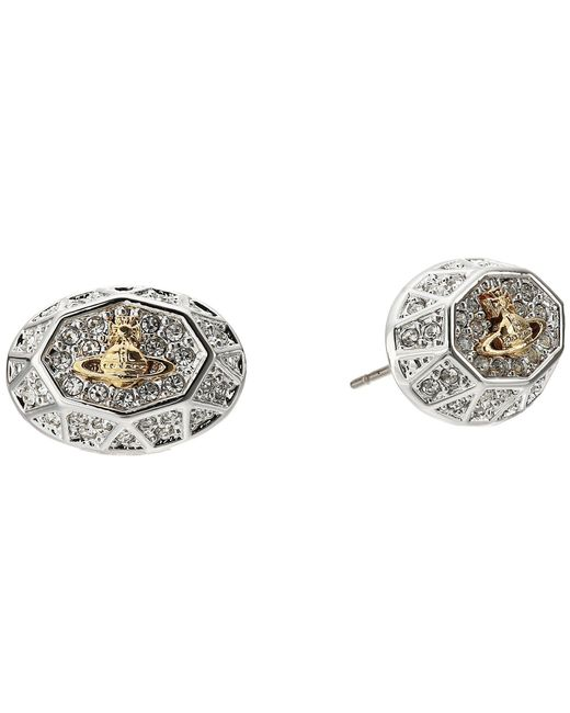Vivienne Westwood | Metallic Liliana Earrings | Lyst
