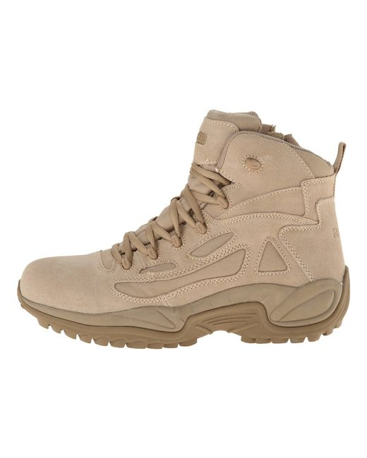 5dcbdcc5af35 ... Reebok - Natural Rapid Response 6 (desert Tan) Men s Work Boots for Men  ...