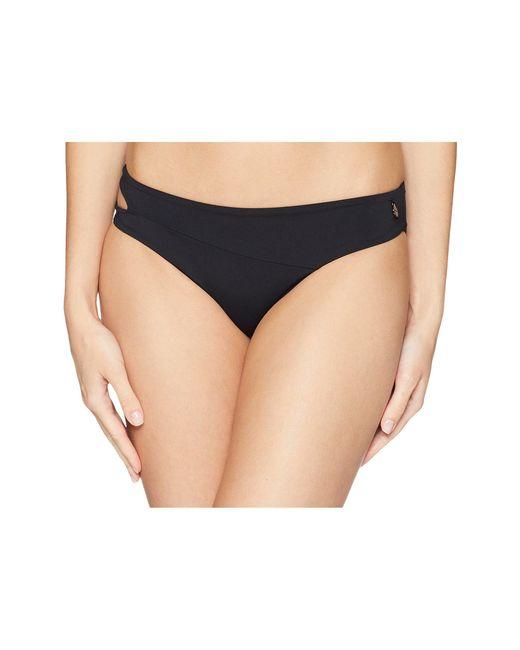 Volcom - Simply Seam Classic Full Bottom (black 2) Women's Swimwear - Lyst