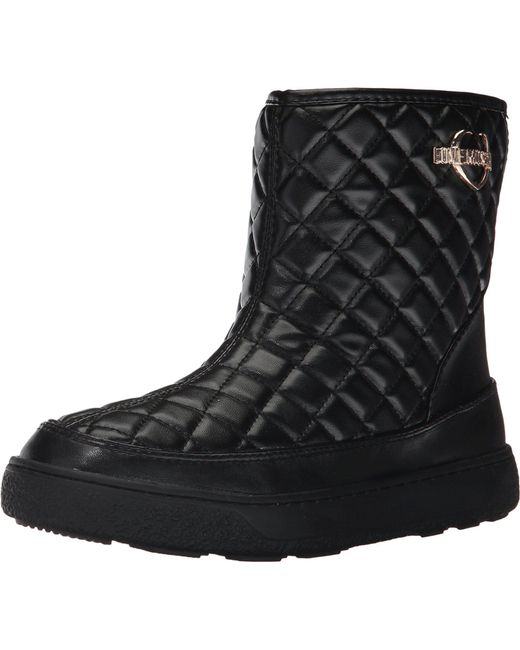 LOVE Moschino Quilted Winter Boot 0wnBcR