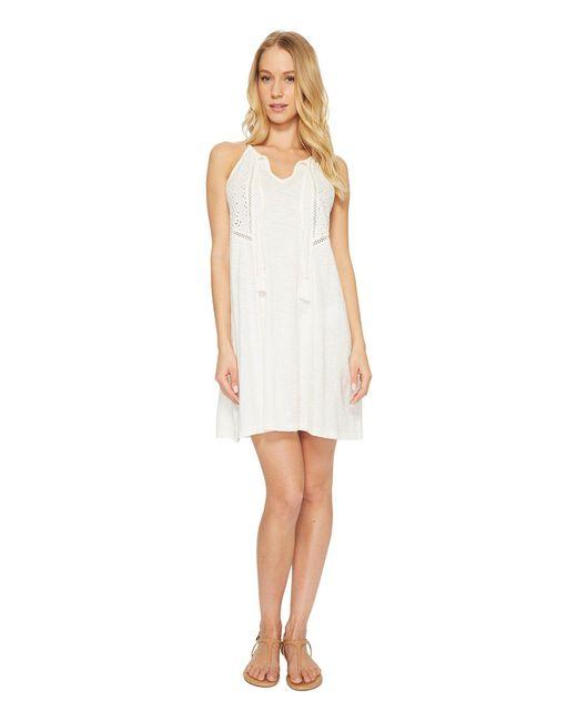 Roxy | White Enchanted Island Dress | Lyst
