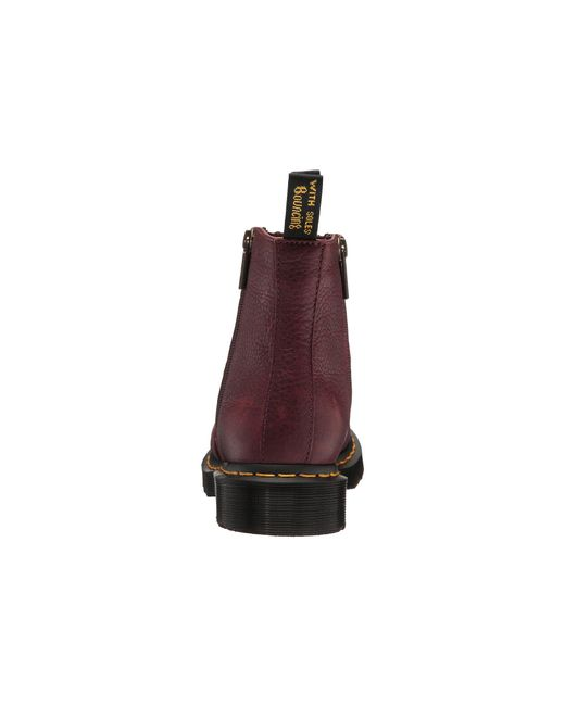 3f74c2ee9a67e ... Dr. Martens - Multicolor 2976 W  Zips (cherry Red Grizzly) Women s Boots  ...