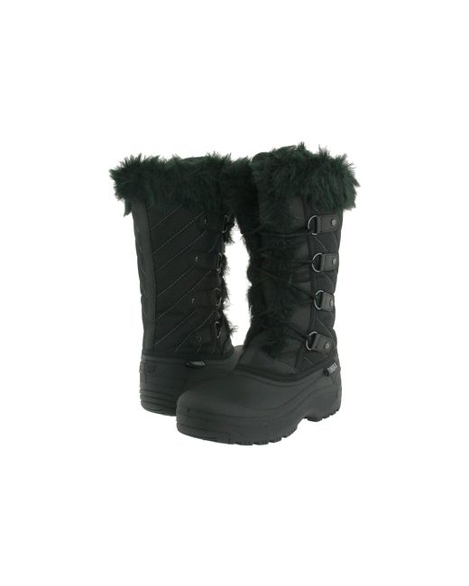 Tundra Boots - Diana (black/purple) Women's Cold Weather Boots - Lyst