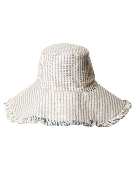 Hat Attack - Multicolor Fringed Edge Sunhat - Lyst
