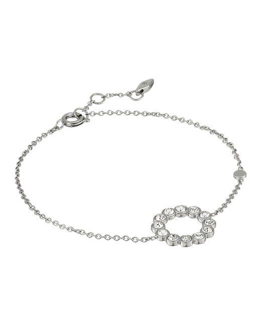 Fossil - Metallic Vintage Glitz Bezel Bracelet - Lyst