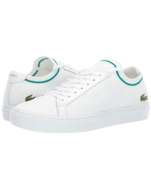 cec099f9f6ed53 Lyst - Lacoste La Piquee 119 1 Cma (black white) Men s Shoes in ...