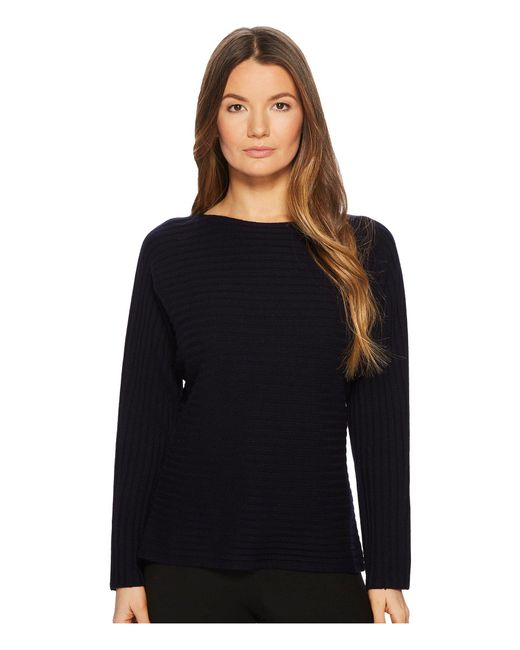 Vince - Multicolor Tie Back Dolman (coastal) Women's Long Sleeve Pullover - Lyst