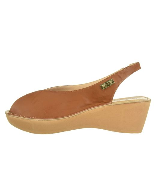 c1525e72306e ... Kenneth Cole Reaction - Brown Fine Stretch Sling (tan Smooth) Women s  Shoes ...