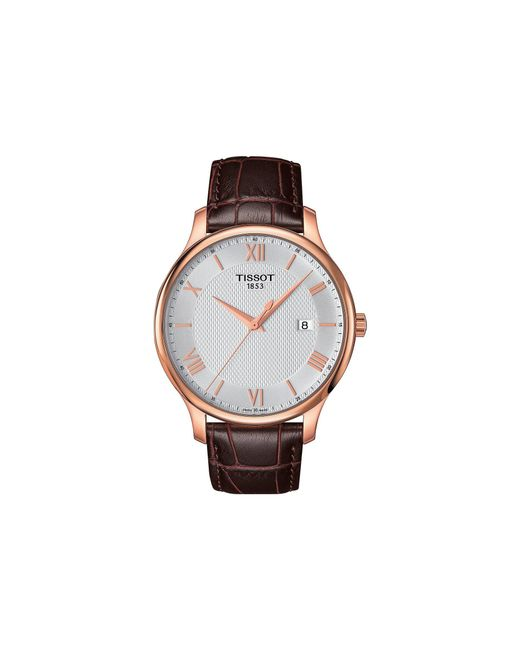 Tissot - Multicolor Tradition - T0636103603800 (mother-of-pearl/brown) Watches for Men - Lyst