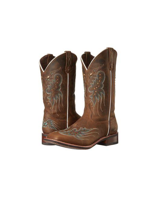 Laredo - Brown Sadie (dark Tan) Cowboy Boots - Lyst