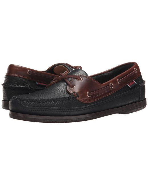 Sebago | Black Schooner for Men | Lyst