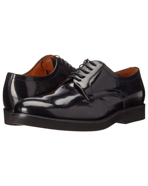 Massimo Matteo - 5-eye Brush Off Pt (black) Men's Lace Up Casual Shoes for Men - Lyst