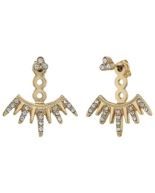 Shashi - Metallic Arusha Ear Jacket - Lyst