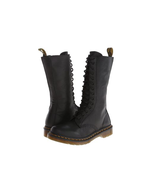 Dr. Martens - Black 1b99 14-eye Zip Boot - Lyst
