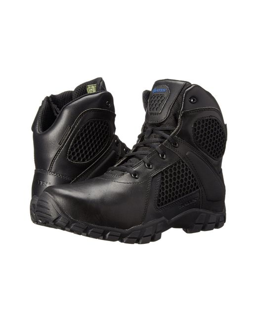 Bates Footwear - Pink 6 Strike Side Zip (black) Men's Work Boots for Men - Lyst