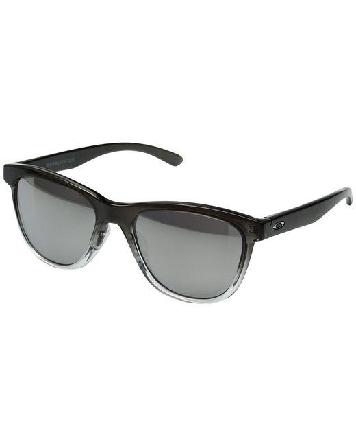 9376a413cc Oakley - Black Moonlighter (dark Ink Fade chrome Iridium Polarized) Plastic  Frame Fashion ...