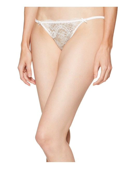 L'Agent by Agent Provocateur - Natural Madalene Thong (cream) Women's Underwear - Lyst