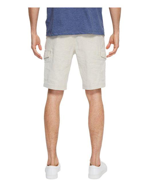 90876cefaf ... Tommy Bahama - Natural Beach Linen Cargo Shorts (stone Khaki) Men's  Shorts for Men ...