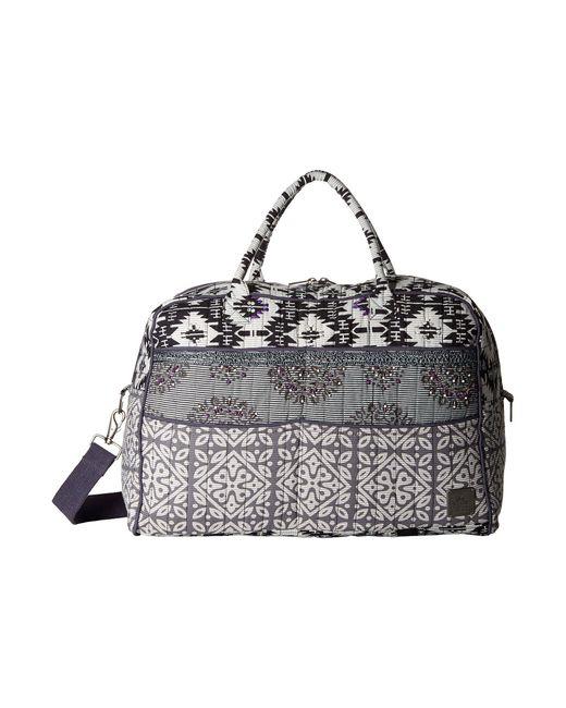 Prana - Metallic Bhakti Weekender Bag (silver) Weekender/overnight Luggage - Lyst