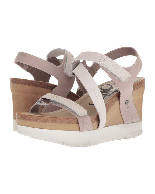 Otbt - Multicolor Wavey (gold) Women's Wedge Shoes - Lyst