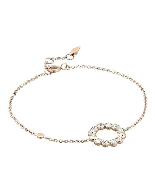 Fossil - Metallic Glitz Ring Chain Bracelet - Lyst