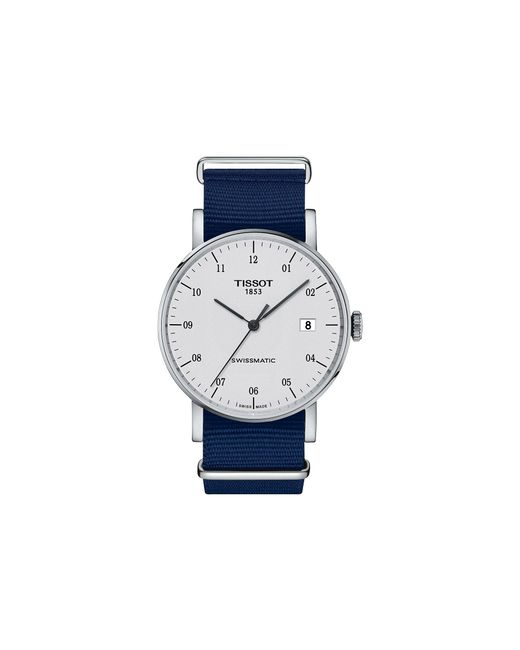 Tissot - Everytime Swissmatic - T1094071703200 (silver/dark Blue) Watches for Men - Lyst